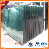 China large size colored / clear Building Glass with ISO CCC BV