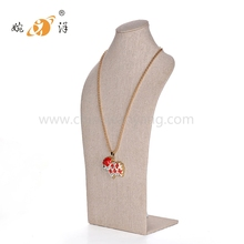 High Quality Standard fashion jewelry acrylic necklace display bust