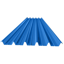 Light steel roof structure color coated corrugated steel plate roof sheet wave corrugated and T-corrugated sheet