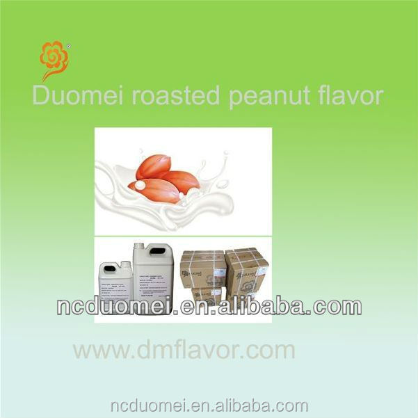 Roasted peanut flavor liquid flavor artificial fragrance food grade flavor for vegetable protein drink