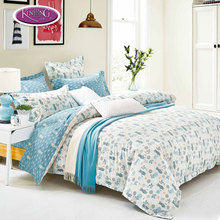 European romantic home goods floral super king size wholesale duvet covers for familly