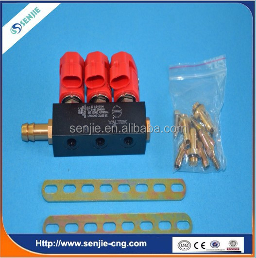 cng/lpg reducer/regulator 3cyl Injector Rail