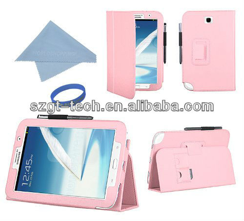 For samsung Galaxy Book Stylish Leather Case for Samsung Galaxy Note 8 N5100