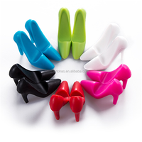 Multifunction 3D shoe Shape Silicone Phone Stand For Mobile Phone