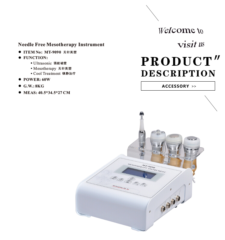 4 in 1 functional mesotherapy with CE