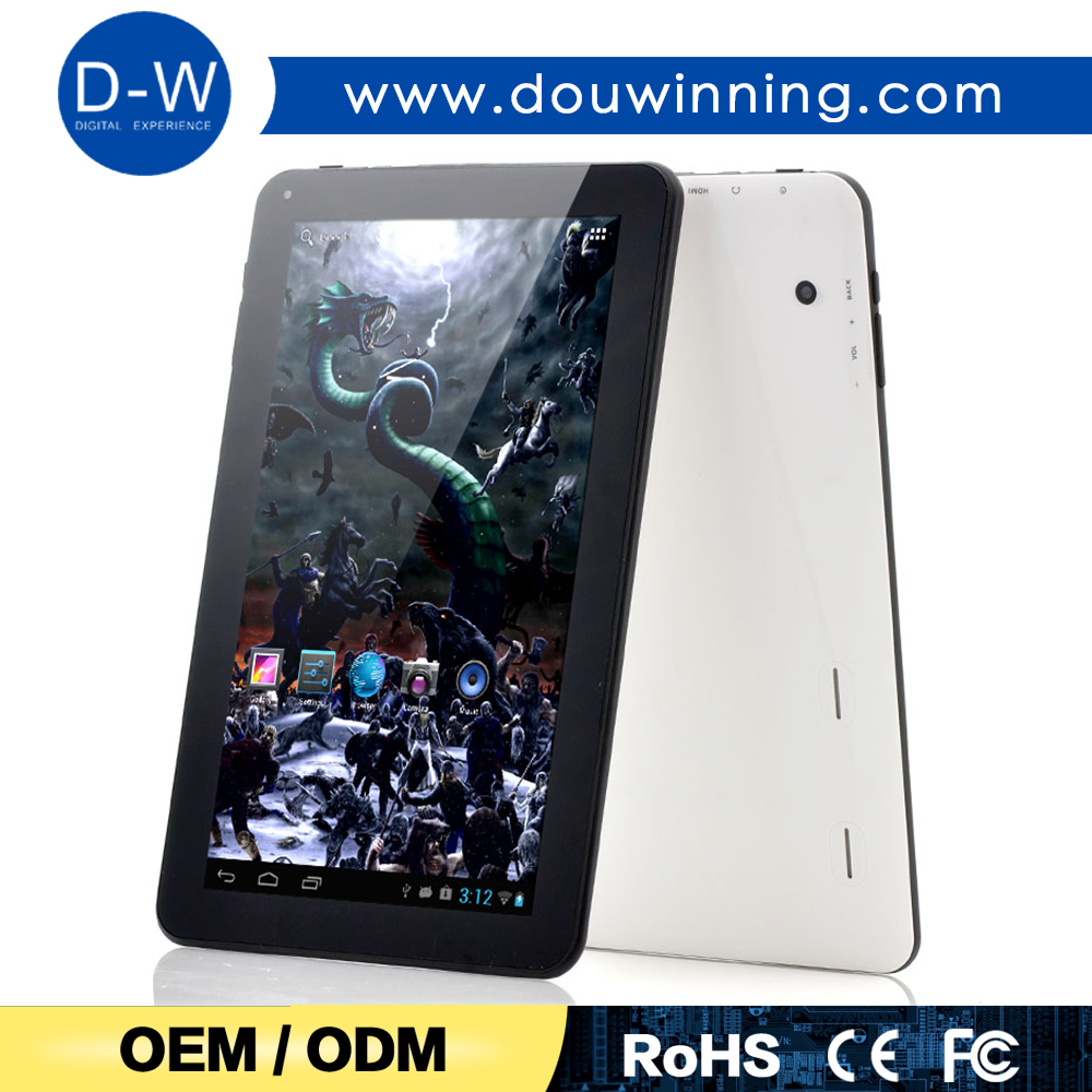 Big battery 10.1 inch A33 quad core good tablet pc price china