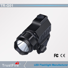 Shenzhen Trustfire G01 super brightness and mute led hunting lights for R5 gun flashlight cr2 battery