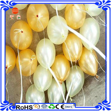 Custom Factory Wholesale Yellow Helium Latex free Balloon for party