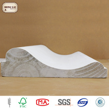 Fillet Wood Moulding Line white gesso primed finger Joint Wood Frame Moulding Decorative