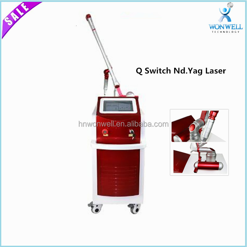 1064nm/532nm Q-switched Nd.Yag laser pigmentation removal for beauty salon