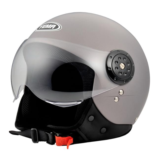 Helmet ece r 22.05 approved motorcycle scooter vintage open face helmet with visor motorcycle helmet