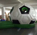 HOLA inflatable football bounce house for kids