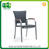 Own style Fascinating Non-wood Aluminum modern comfortable dining chair