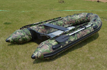 Inflatable Dinghy Rubber Boat with Aluminum Floor