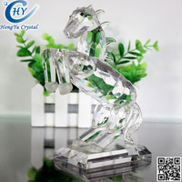 2015 New Design And horse Shape crystal animal art craft