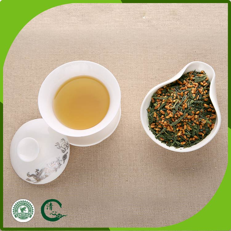 healthy Organic Genmaicha Brown Rice Green Tea for all ages