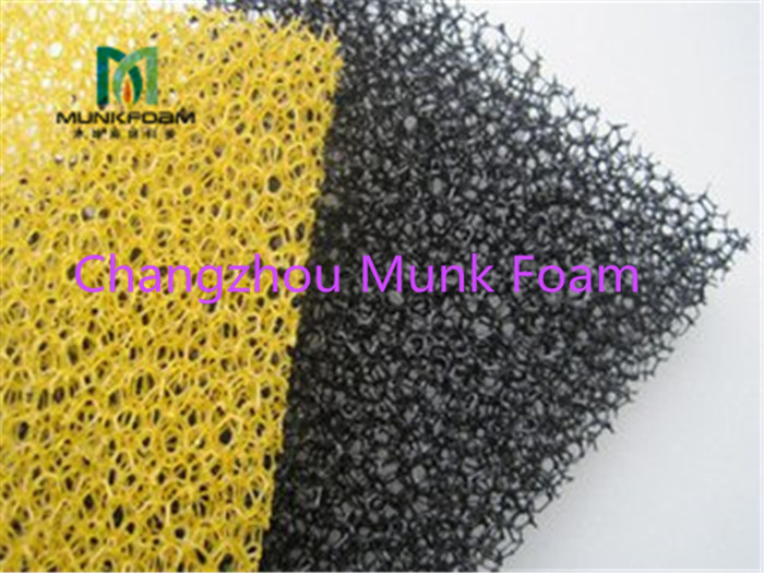 Low Price Hot sale 10 PPI to 80 polyether open cell polyurethane filter sponge reticulated foam