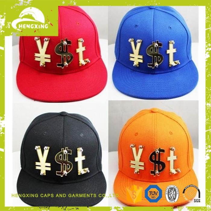 High quality custom snapback snakeskin