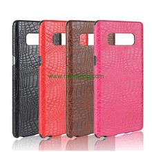 Wholesale Crocodile Pattern Skin leather soft tpu phone case for Samsung Galaxy note8