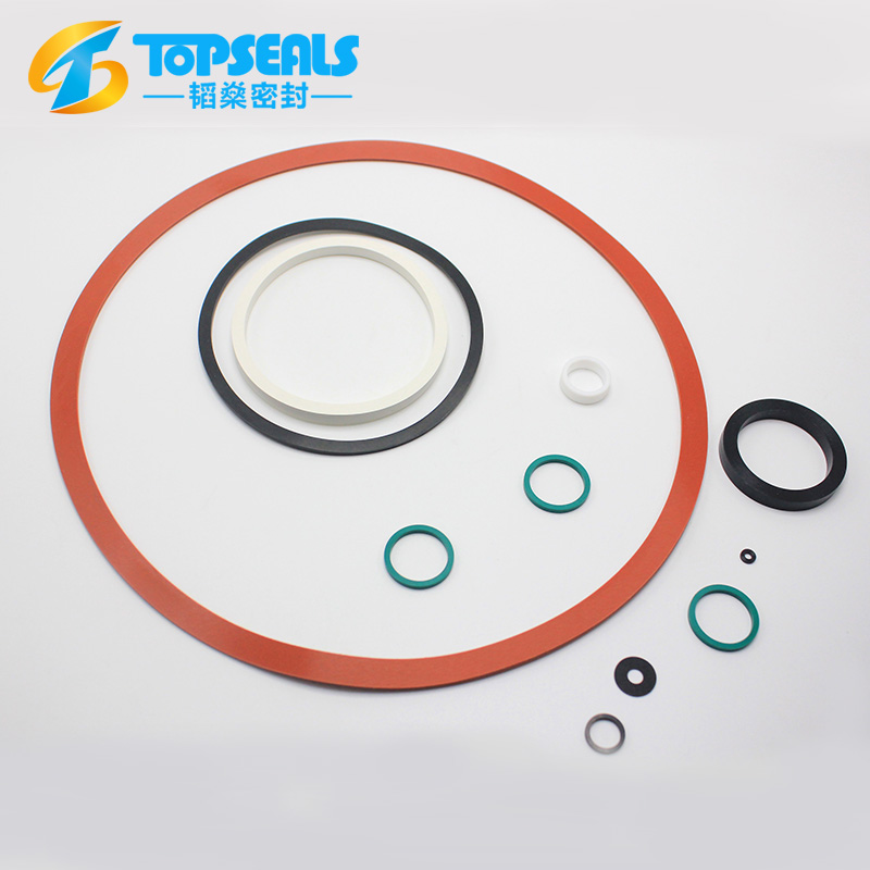 Custom Red Industrial Large Rubber Seals Washers And Gaskets - Buy ...