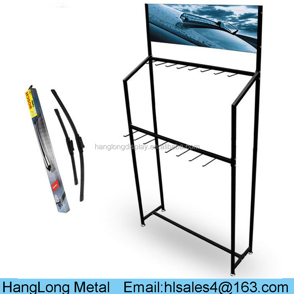 Famous brand car windshield wiper display stand HL062