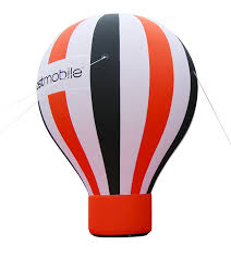 advertising inflatable cold air ground banner balloons
