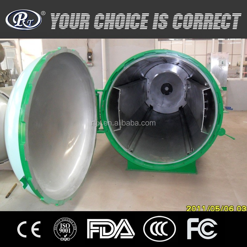 Rubber hoses and rubber rolls vulcanizing boiler for rubber industry