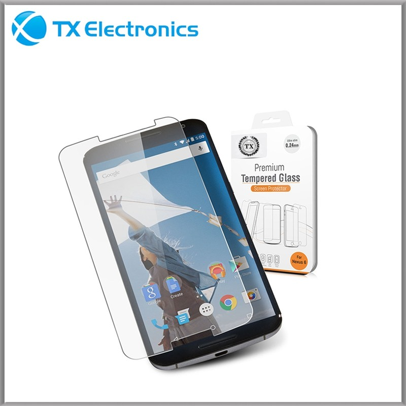 Wholesale tempered glass screen protector for motorola droid razr m