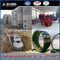China supplier concrete manhole making machine with manhole mould