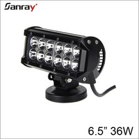 6.5 inch 36w led driving light waterproof dustproof shackproof led light bar for truck/ trailer/automobile/automotive