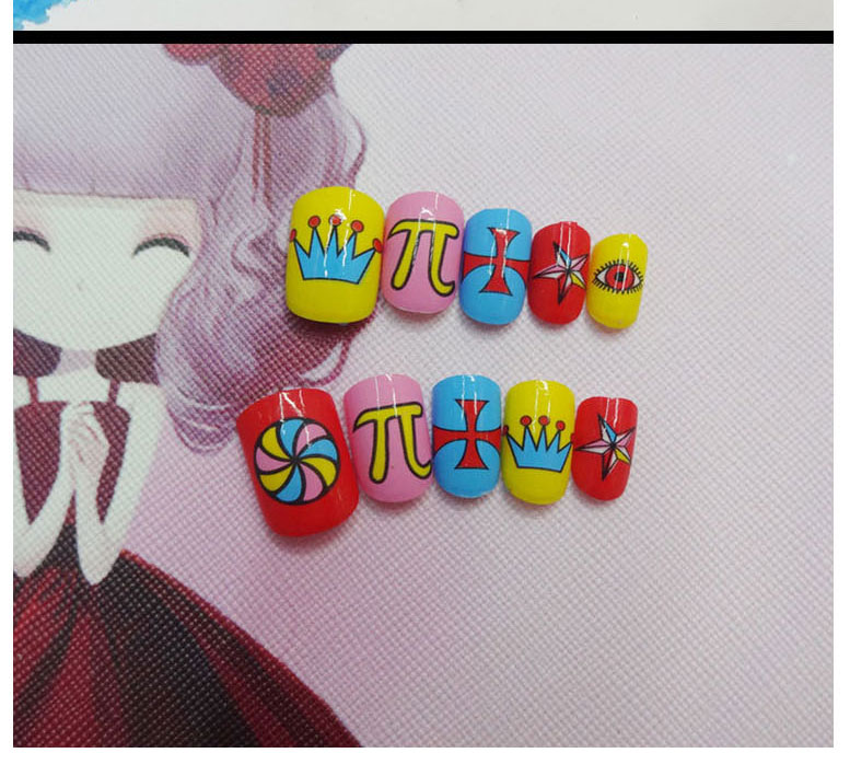 Factory supply the best Kids Fake Nails without harmful