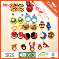Latest Design Stylish Handmade paper quilled jewelry