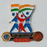 Customed Soft Enamel Lapel Pin