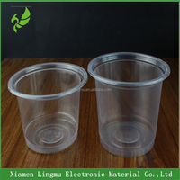 Custom disposable pp yogurt jelly pudding plastic cup with lid