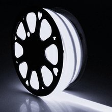 Waterproof White LED Neon Flex Rope Light, 12V 8mm Diameter Strip Neon for Christmas Lighting, Indoor / Outdoor Decoration