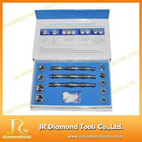 China manufacturer 9 microcrystal dermabrasion tips and 3 hand pieces