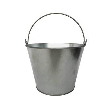 Factory Wholesale Cheap Price Galvanized metal 5L water bucket with handle