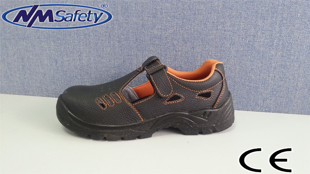 NMSAFETY new design men buffalo leather safety shoes with CE certificates