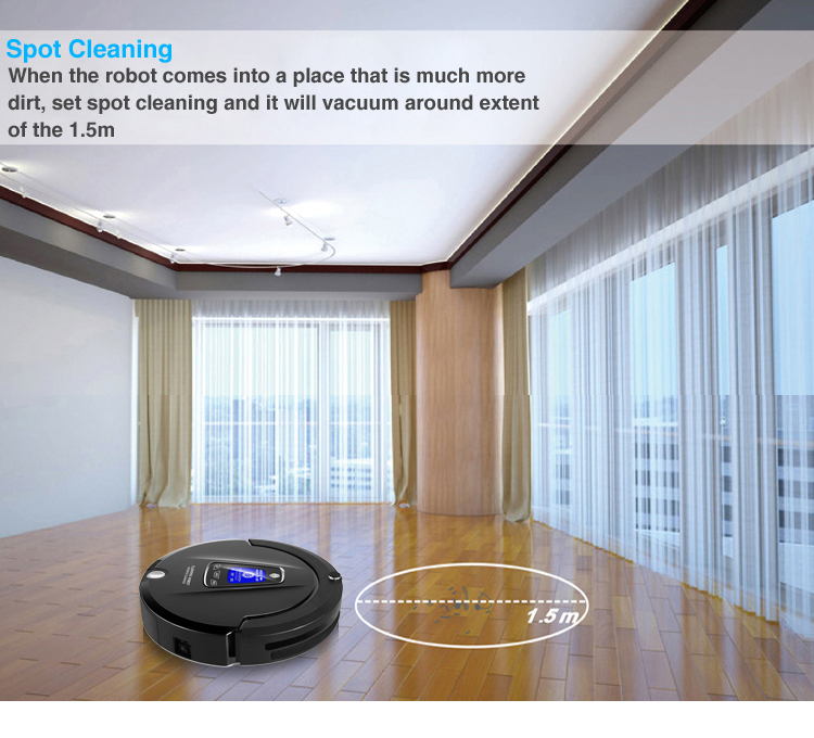China Manufacturer OEM Robot Sweeper A335(Sweep,Vacuum,Mop,UV Sterilize)Touch Screen,Schedule,Virtual Blocker,Auto Charge