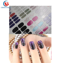 easy removable christmas holiday 3d nail art sticker with cheap price