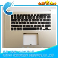 "New ! Top Case Topcase Palmrest & Fr / French keyboard For Macbook Pro 15"" retina A1398 MC975 Without Touchpad"