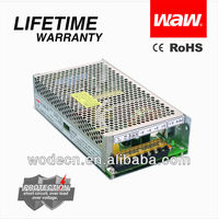 IP20 metal case 200w 12v led switching power supply with CE ROHS approved