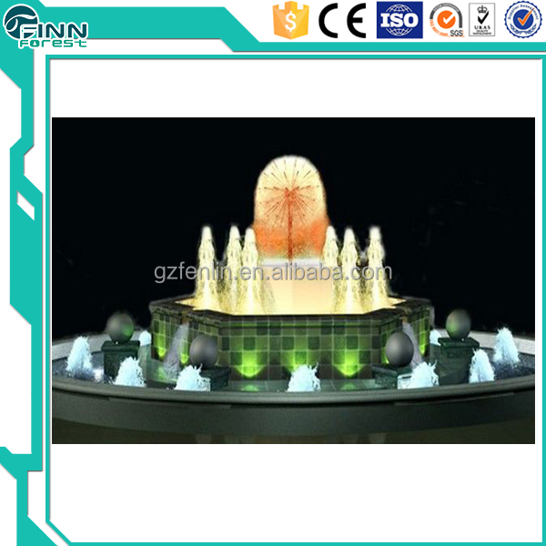 outdoor water decoration small indoor water fountain