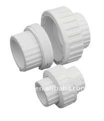White pvc pipe union water rotary union buy water rotary for White plastic water pipe