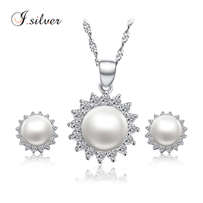 Top selling Sun flower pearl 925 sterling silver african jewelry gift sets S50001