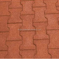Driveway Recycled Rubber Paver Mat