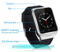 Fashion 3G Android 4.4 OS GPS Smart Watch with 5M pixels Webcam for Android smart phone Support SIM Card Wifi FM smart watch