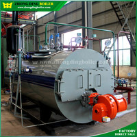 Factory Gas oil fired industrial boiler prices
