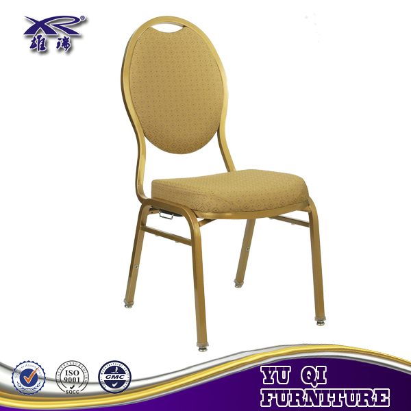 Competitive Price Aluminum Steel Stacking Hotel Wedding Banquet Chair