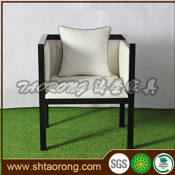Factory direct high end hotel wooden black lacquer dining room chairs